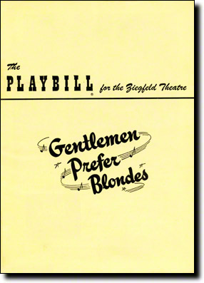 Gentlemen-Prefer-Blondes-Playbill-12-49