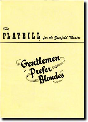 Gentlemen-Prefer-Blondes-Playbill-12-49